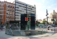 remodelación acceso metro plaza valència
